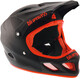 bluegrass Explicit Fullface-Helmet matt black/red